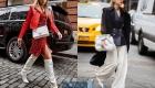 Уличная мода Нью-Йорка сезона зима 2019-2020