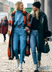 Модное пальто стритстайл осень-зима 2019-2020