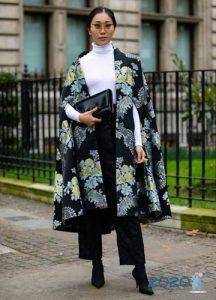Кейп уличная мода осень-зима 2019-2020 года
