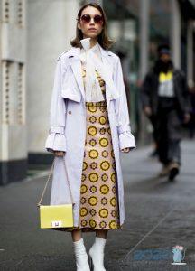 Классическое платье street-style 2019-2020
