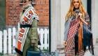 Шарфы  уличная мода 2019-2020 года