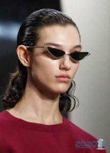Минималистичные очки - мода 2019 и 2020 года