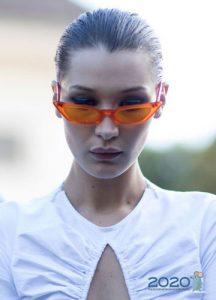 Модные узкие очки на 2019-2020 год