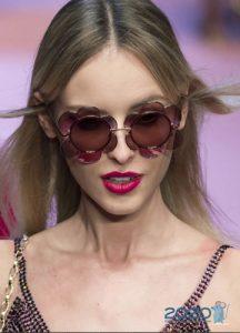 Очки с оправой в виде цветов - мода 2020 года