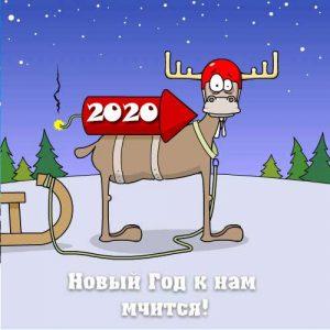 Прикольная картинка на 2020 год
