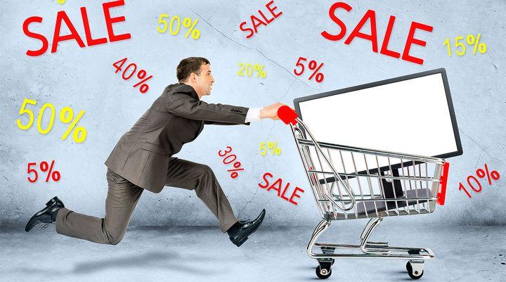 РАспродажи во время Киерпонедельника