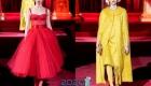 Яркие оттенки платьев на 2020 год