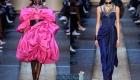 Модные цвета и расцветки платьев зима 2019-2020