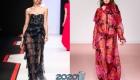 Прозрачные платья  осень-зима 2019-2020