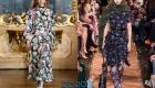 Модное платье 2020 года в цветочек