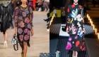 Платье с цветами - тренд зимы 2019-2020