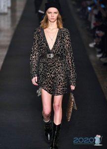 Леопардовое платье - тренд зимы 2019-2020