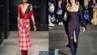 Платье в клетку - мода 2020 года