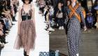 Модная клетка - тренды платье на зиму 2019-2020