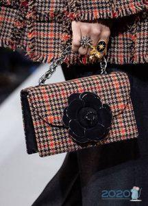 Модная текстильная сумка осень-зима 2019-2020