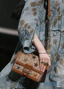 Модная сумка Coach осень-зима 2019-2020