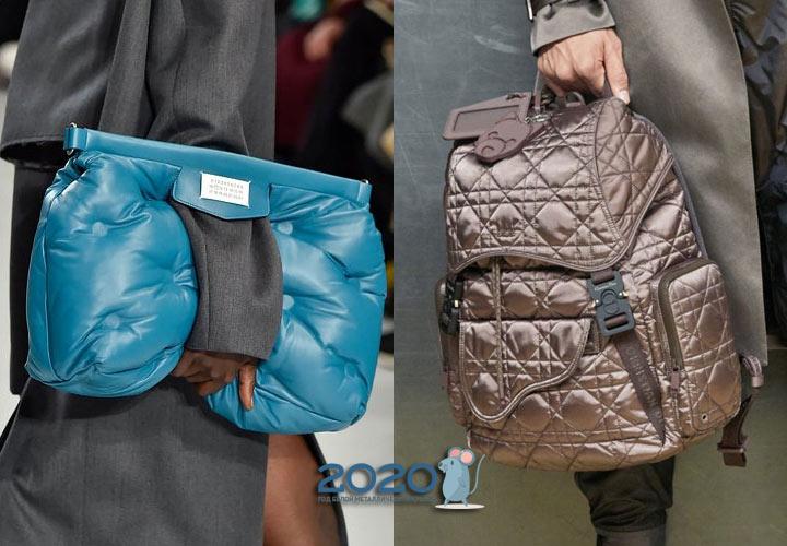 Стеганые сумки сезона осень-зима 2019-2020
