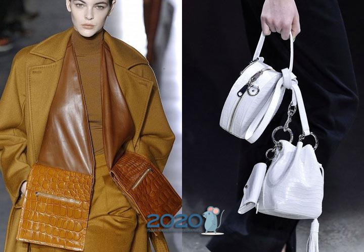 Двойные сумки осень-зима 2019-2020
