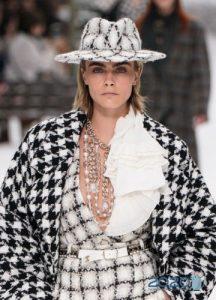 Шляпа от Шанель осень-зима 2019-2020