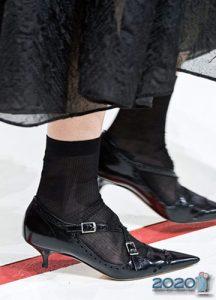 Дизайнерские туфли на зиму 2019-2020 года