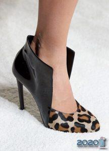 Леопардовые туфли осень-зима 2019-2020