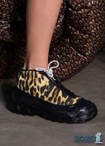 Леопардовый принт - модные туфли на 2020 год