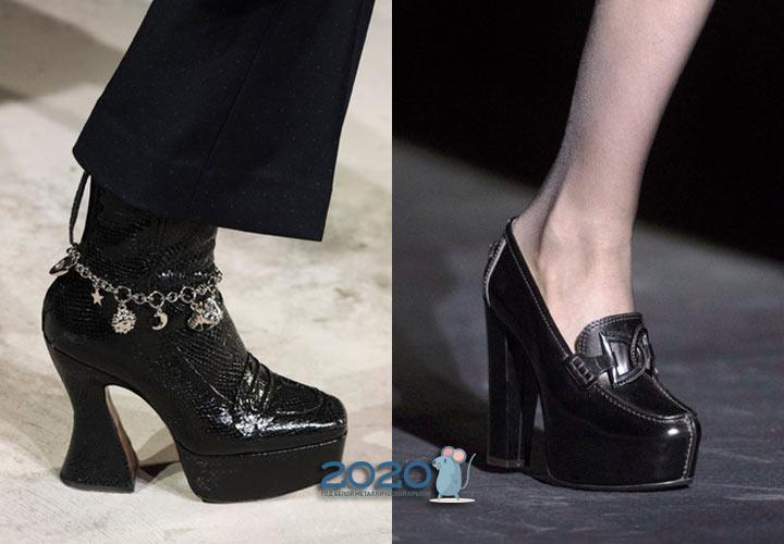 Какие туфли будут модными в сезоне осень-зима 2019-2020