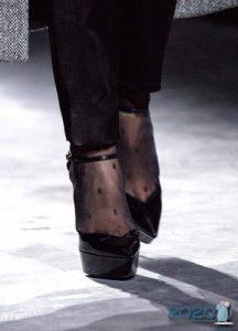 Классические туфельки на платформе