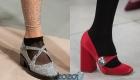 Модные туфли с круглым носком на 2020 год
