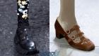 Круглый носок и ремещок - тренды обуви на 2020 год