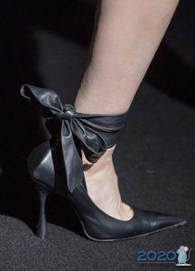 модные туфли с бантами на 2020 год