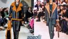 Модные дубленки с цветным мехом зима 2019-2020