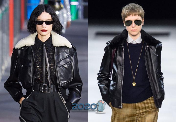 Куртка-авиатор осень-зима 2019-2020 года