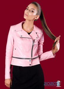 Розовая косуха на 2020 год