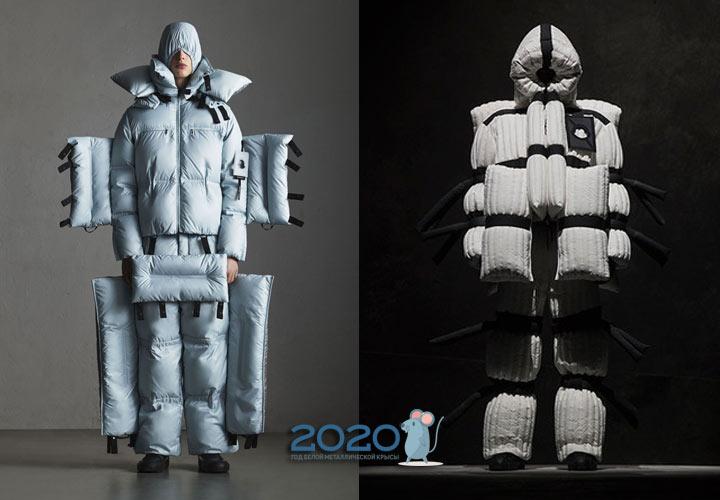 Эпатажные пуховики сезона осень-зима 2019-2020