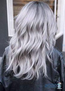 Тренд окрашивания осень-зима 2019-2020 - пепельный блонд