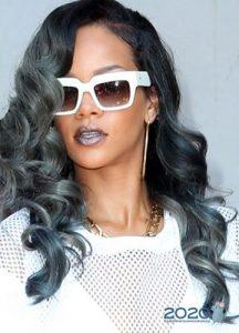 Модный серый оттенок волос на 2020 год