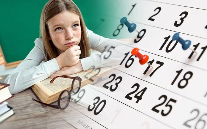 Календарь ОГЭ 2020