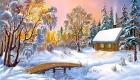 Зимний пейзаж - картинка на 2020 год