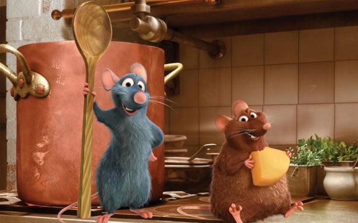 Крыски из мультиков