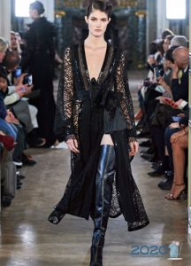 Платье Elie Saab осень-зима 2019-2020 тренды