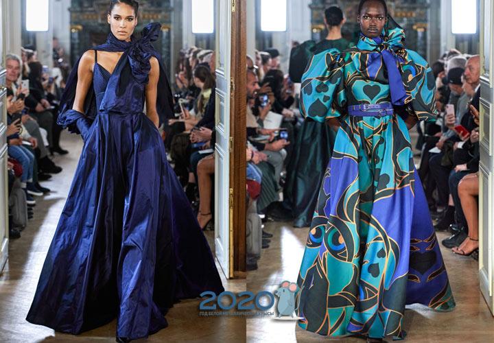 Трендовые платья от Elie Saab на зиму 2019-2020 года
