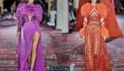 Лучшие модели вечерних платьев осень-зима 2019-2020