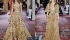 Нюдовое платье от Zuhair Murad  на 2020 год