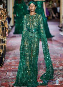 Платье с длинными рукавами Zuhair Murad на 2020 год
