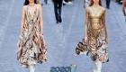Вечернее платье Roberto Cavalli  осень-зима 2019-2020