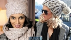 Вязаная мода на зиму 2019-2020 - шапки