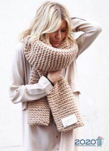 Модный шарф осень-зима 2019-2020