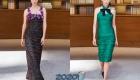 Модные вечерние луки Шанель от-кутюр осень-зима 2019-2020