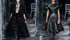 Платье с перьями Christian Dior от-кутюр осень-зима 2019-2020